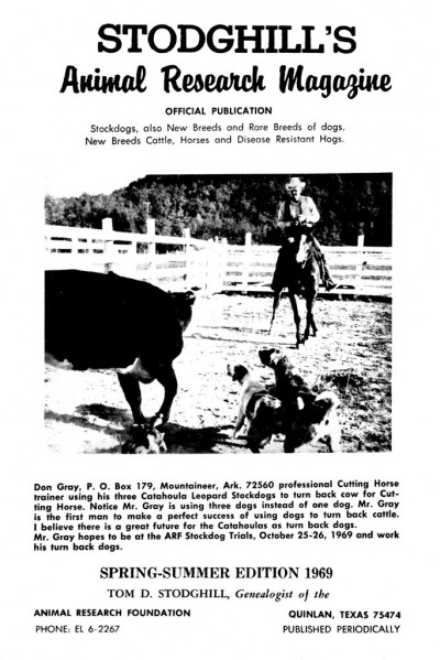 1969 Spring Issue