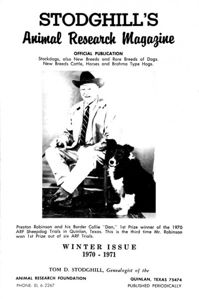 1970-1971 Winter Issue Cover
