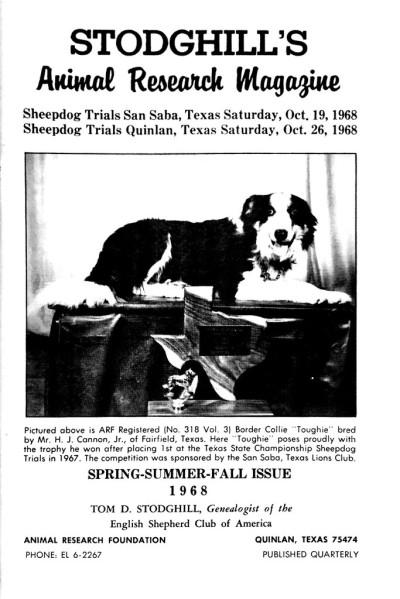 1968 Spring-Summer-Fall Issue