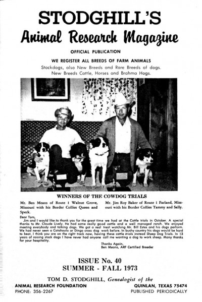 1973 Summer-Fall Issue